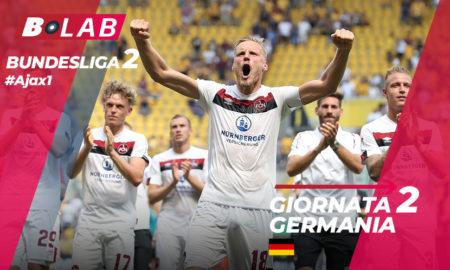 Bundesliga 2 Giornata 2