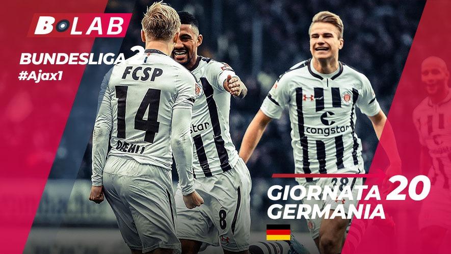Bundesliga 2 Giornata 20