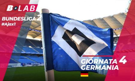 Bundesliga 2 Giornata 4