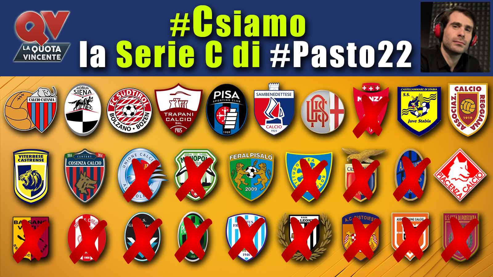 Pronostici Serie C 19 20 maggio: #Csiamo, il blog di #Pasto22 speciale playoff/playout