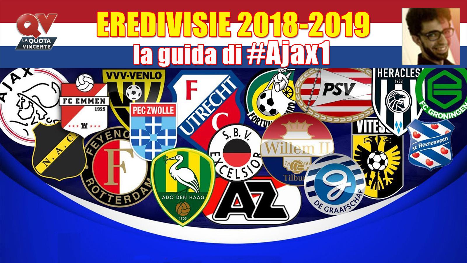 Eredivisie Guida 2018-2019