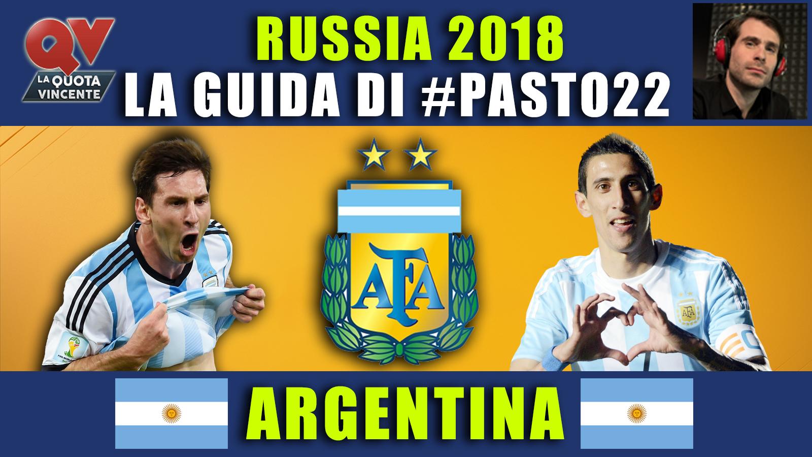 Guida Mondiali Russia 2018 Argentina