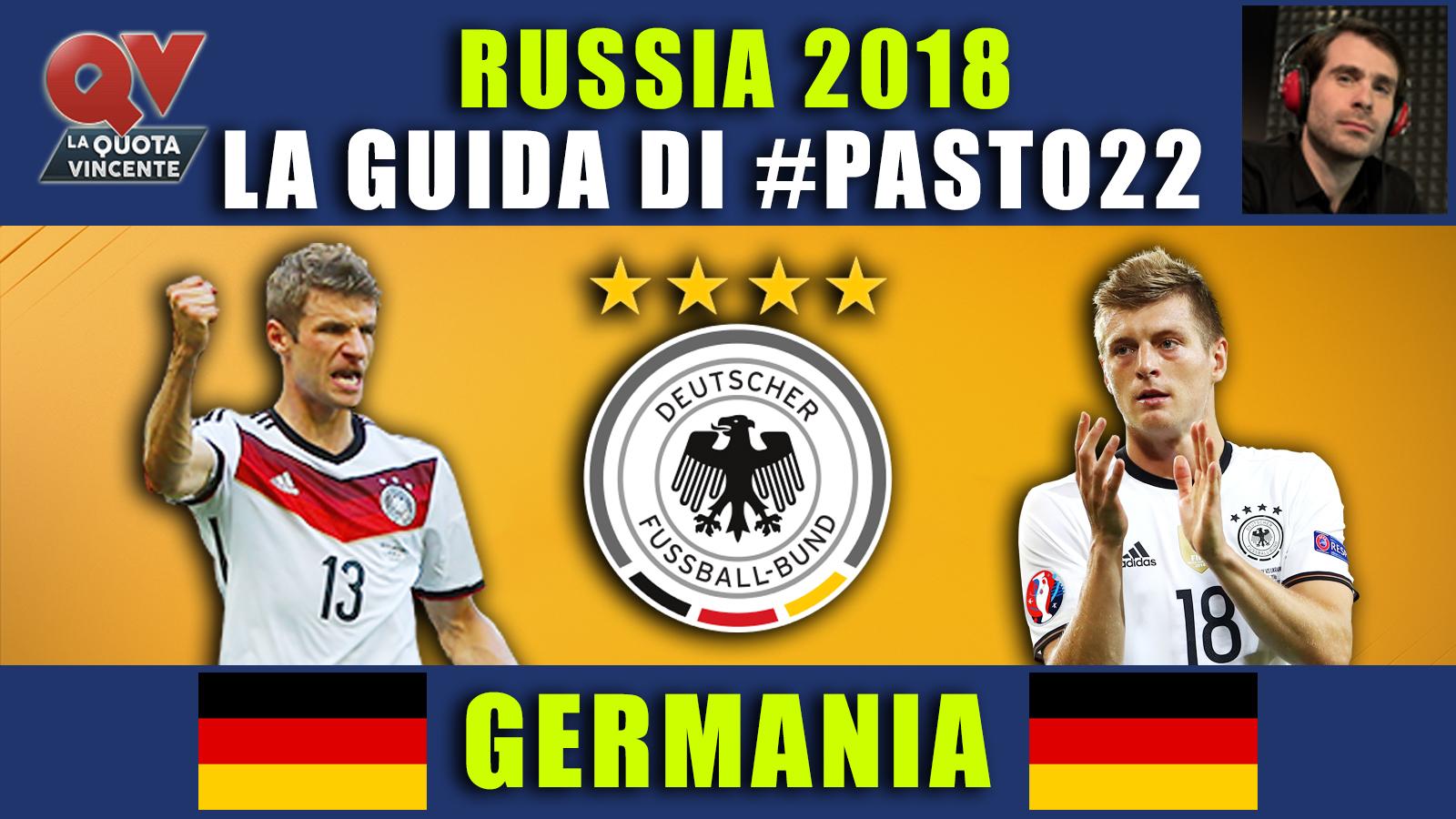 Guida Mondiali Russia 2018 Germania