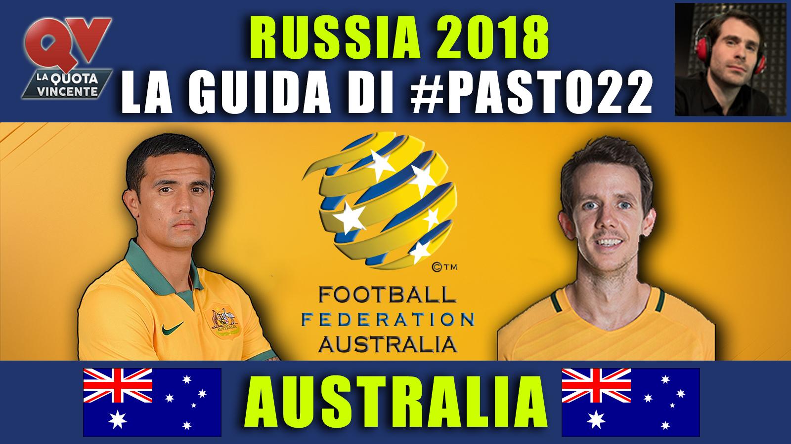 Guida Mondiali Russia 2018 Australia