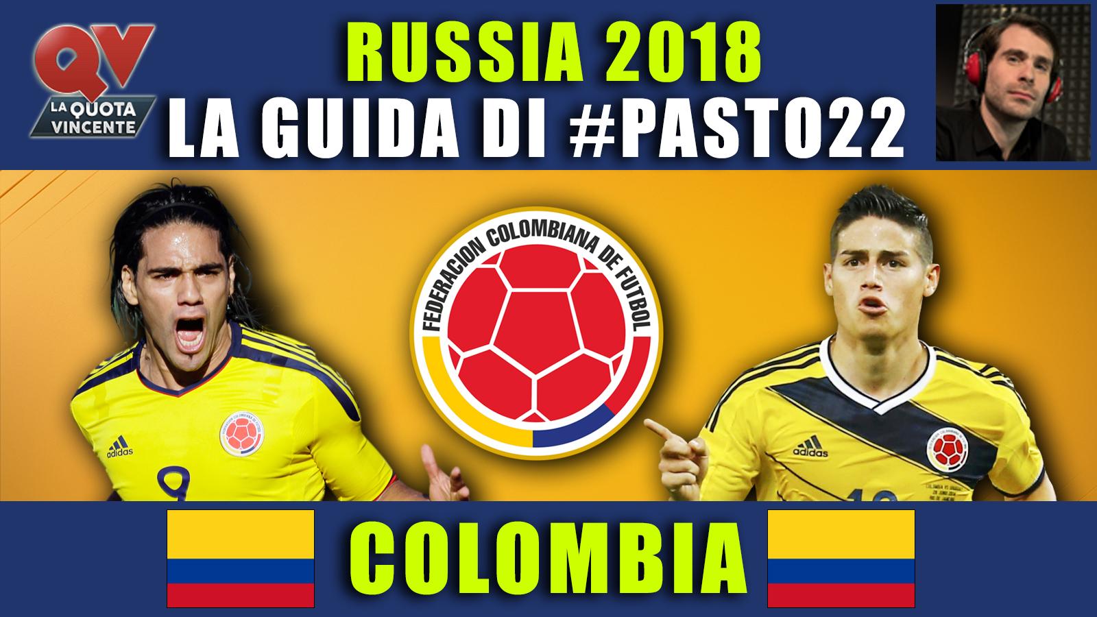 Guida Mondiali Russia 2018 Colombia