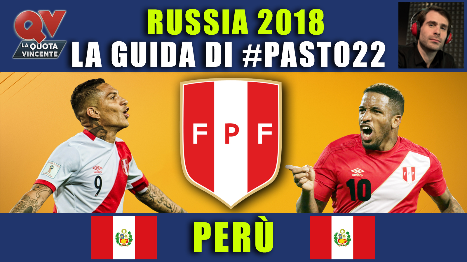 Guida Mondiali Russia 2018 Perù: convocati, quote, calendario, news