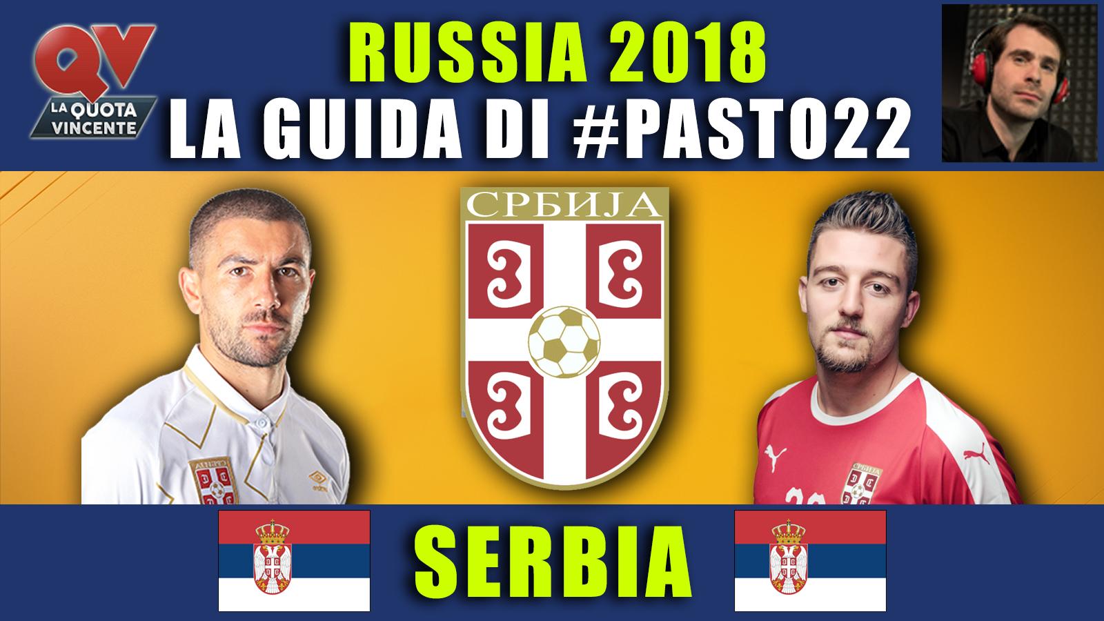 Guida Mondiali Russia 2018 Serbia: convocati, quote, calendario, news