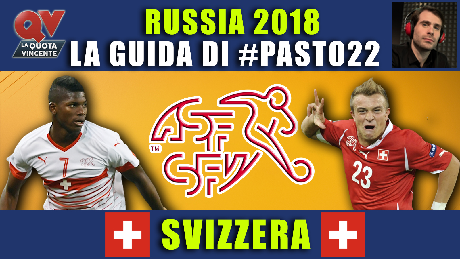 Guida Mondiali Russia 2018 Svizzera
