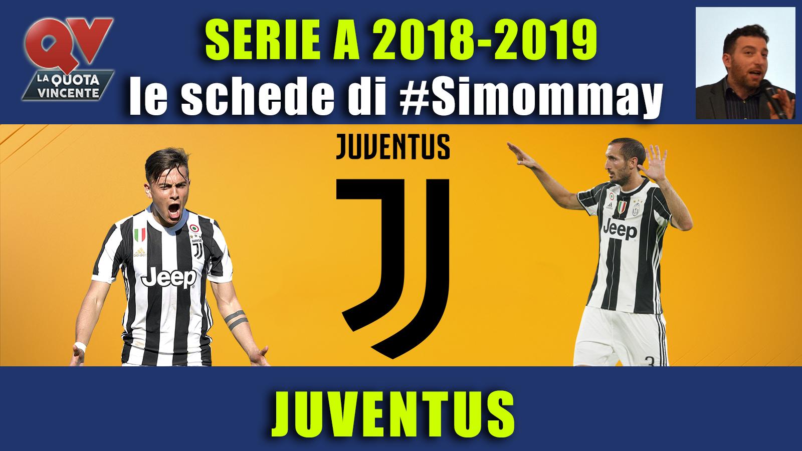 Guida Serie A 2018-2019 JUVENTUS: i bianconeri per vincere tutto!