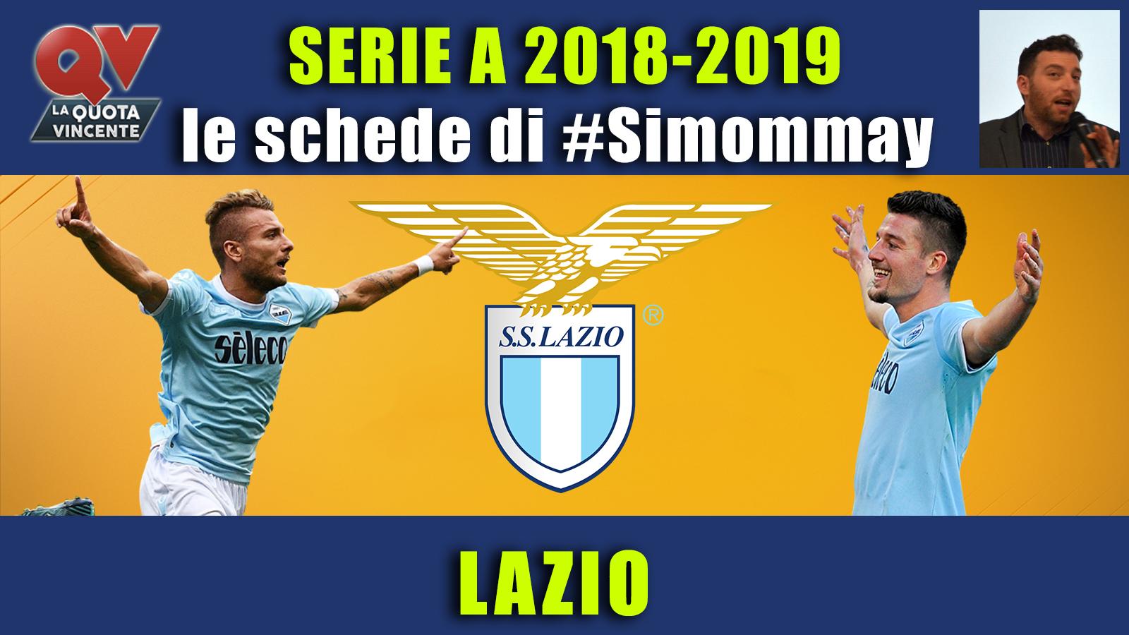 Guida Serie A 2018-2019 LAZIO: l'anno della conferma biancoceleste