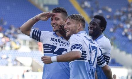 Lazio-Milinkovic-Savic: il Presidente biancoceleste Claudio Lotito ha parlato del futuro del centrocampista serbo