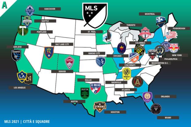 Pronostici MLS 2021