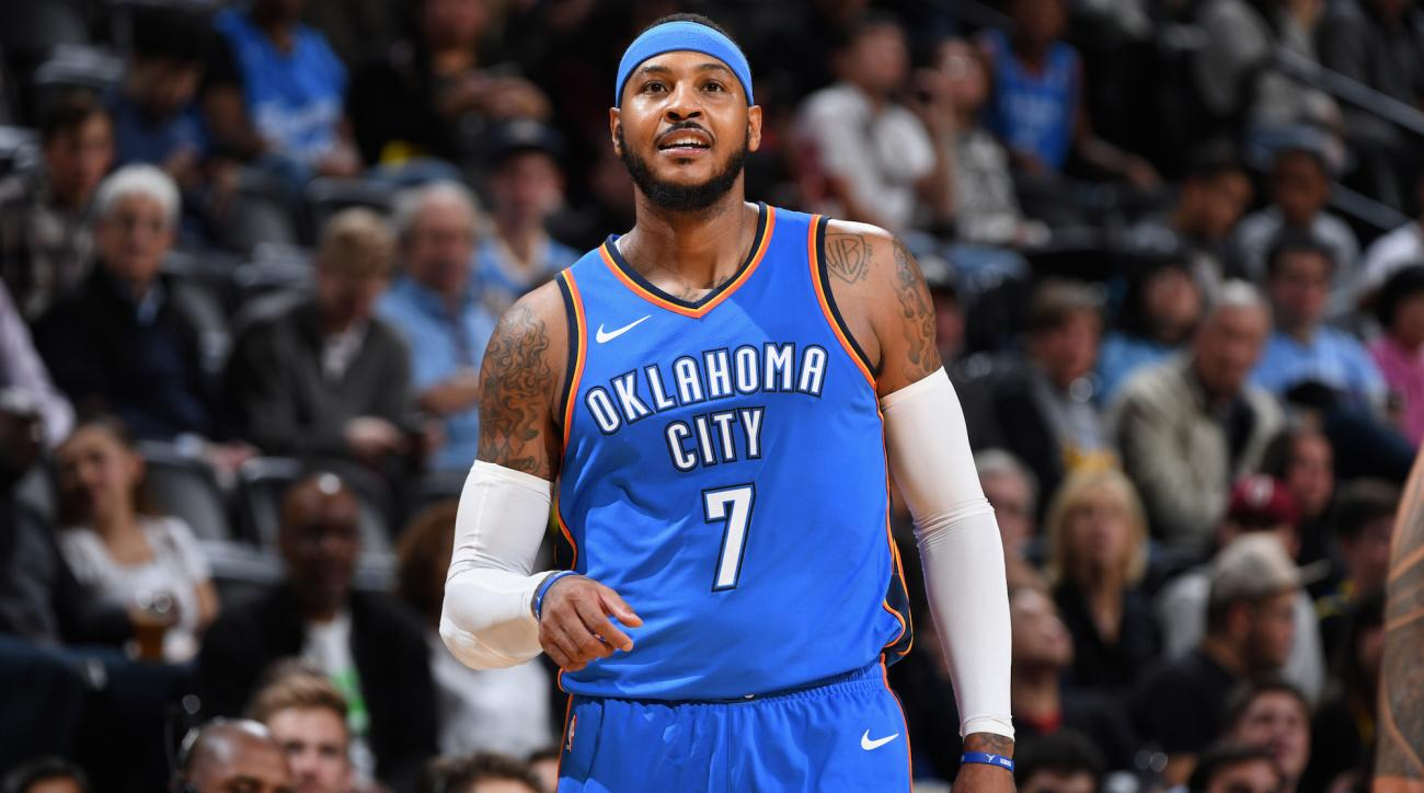 NBA Pronostici, New York Knicks-Oklahoma City Thunder: la serata di Carmelo