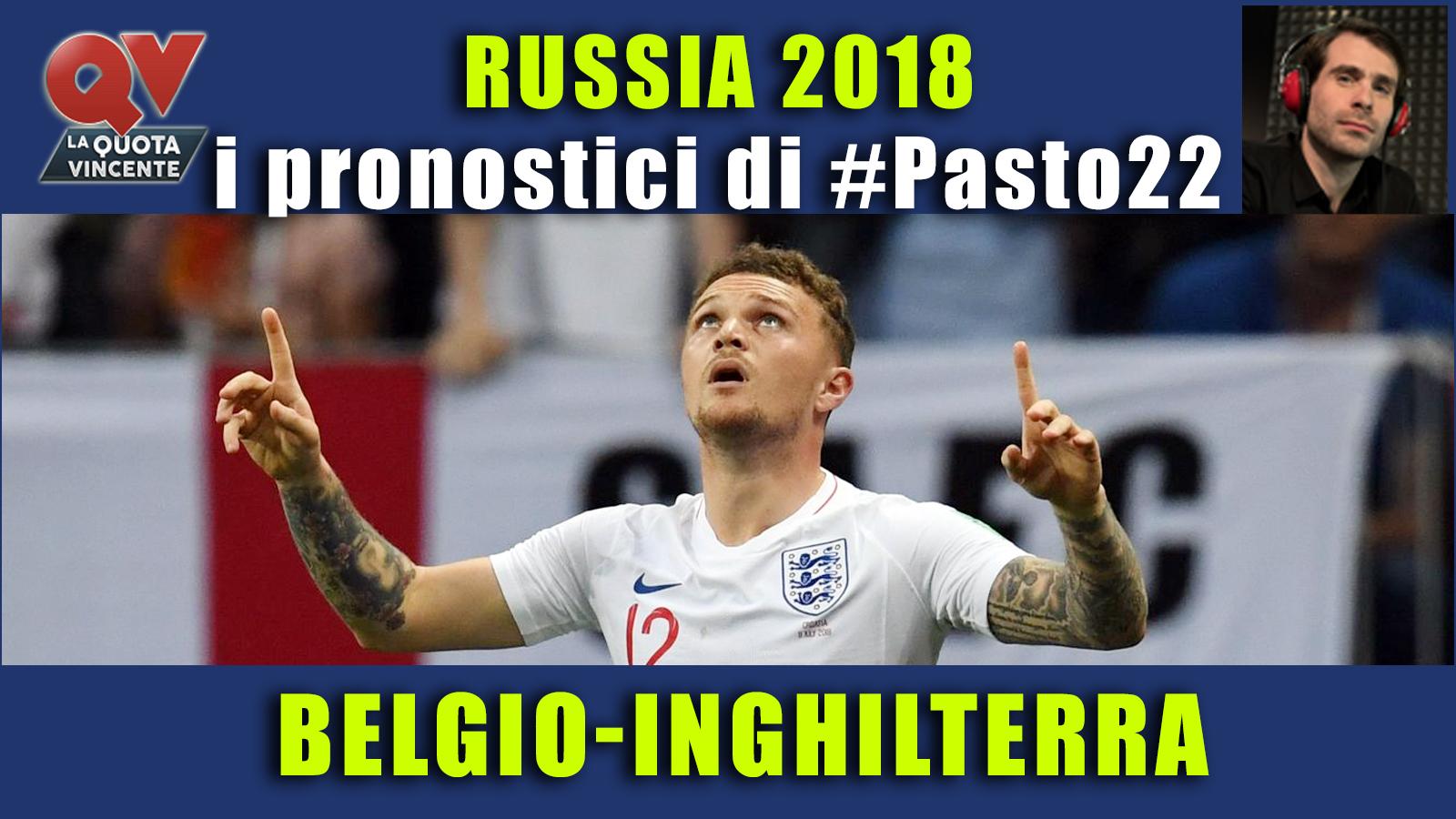Pronostici Mondiali 14 luglio: le dritte di #Pasto22 a Russia 2018