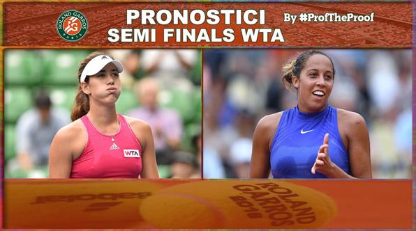 Tennis Roland Garros 2018 Semi Finals WTA