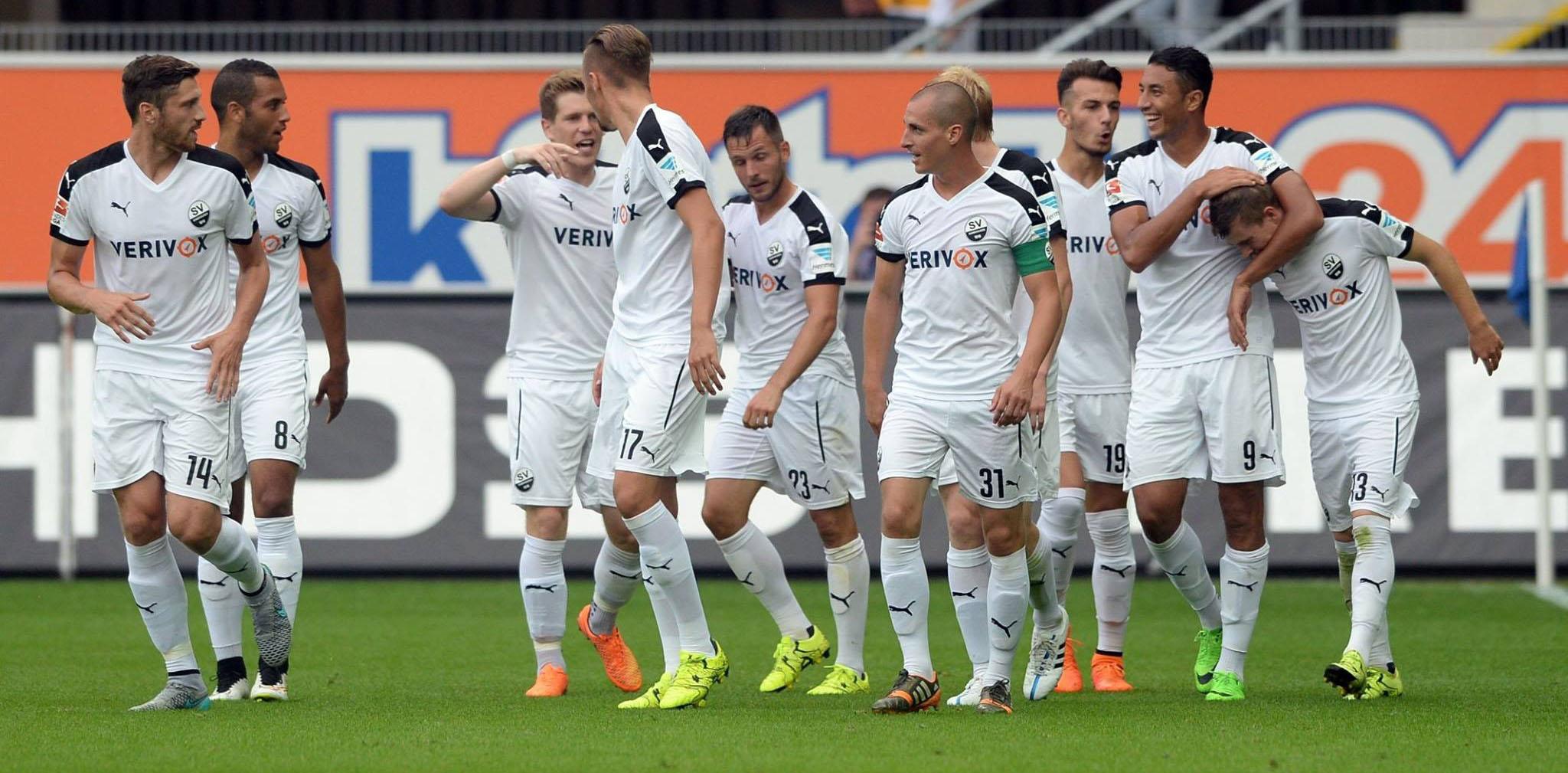 2. Bundesliga, Sandhausen-Wehen 28 ottobre