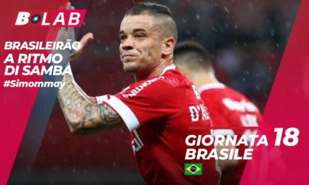Brasileirao pronostici giornata 18: quote, news e statistiche