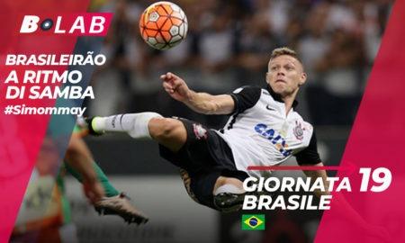 Pronostici Brasile sabato 18 agosto: 5 squadre in 5 punti nel Brasileirao