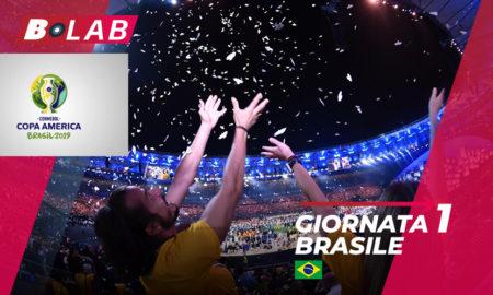 Pronostici Copa America giornata 1: analisi e consigli sulla prima giornata