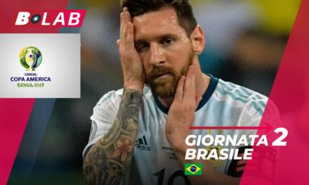 Pronostici Copa America Giornata 2: l'analisi della seconda giornata