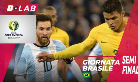 Pronostici Copa America semifinali: analisi e consigli IN UN CLIK!