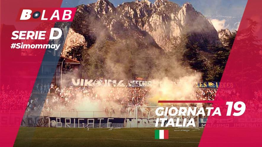 Pronostici Serie D domenica 13 gennaio: capolista in cerca di riscatto