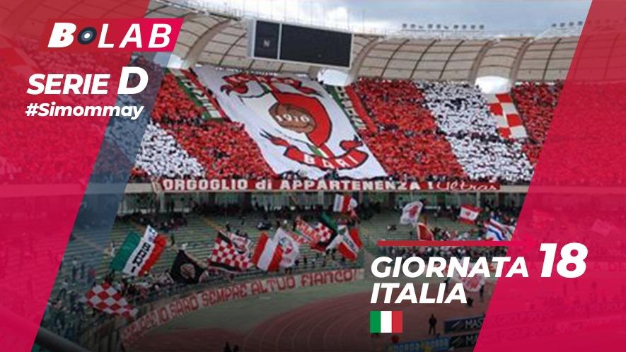 Pronostici Serie D domenica 6 gennaio: parte il girone di ritorno!