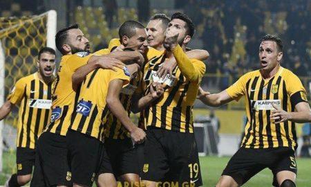 Super League Grecia 7 aprile: si giocano 4 gare della 27 esima giornata del campionato greco. PAOK in vetta con 70 punti all'attivo.