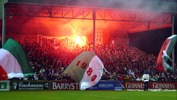 Sligo Rovers-Waterford 13 luglio