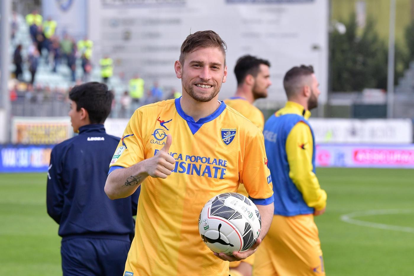 Frosinone-Carrarese 11 agosto 2019