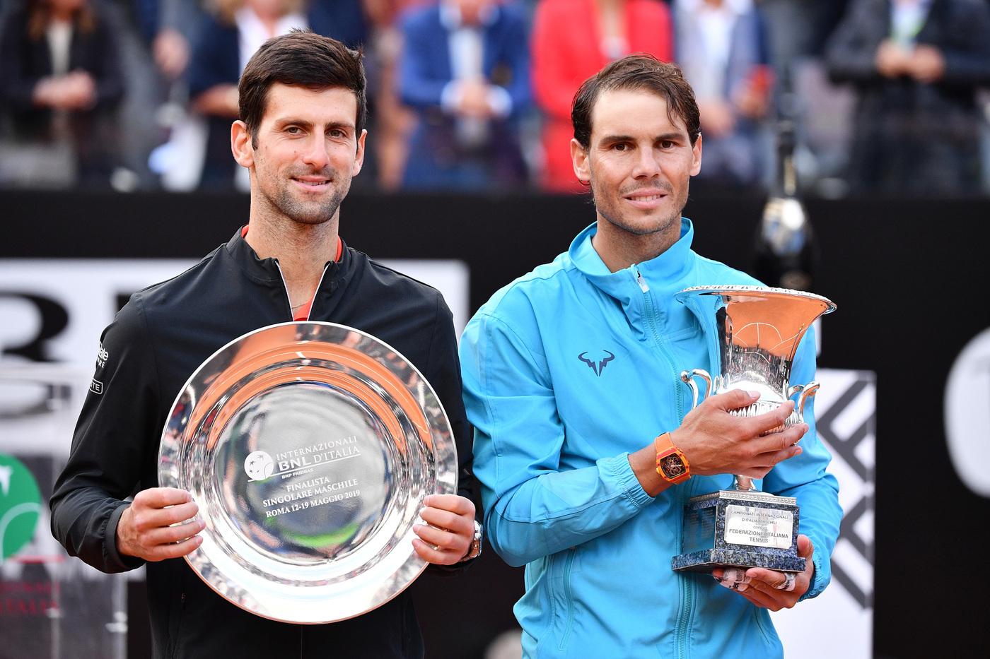 Pronostici tennis live oggi finale Djokovic-Nadal ATP Masters 1000 Roma Internazionali BNL d'Italia WTA fianle Swiatek-Pliskova domenica 16 maggio 2021