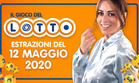 estrazione lotto superenalotto simbolotto 10elotto millionday oggi 12 maggio 2020 numeri vincenti