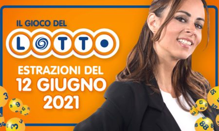 Estrazione lotto 12 giugno 2021 Lotto oggi estrazione vincente superenalotto oggi 10elotto serale simbolotto numeri vincenti ufficiali verifica vincite conduce Serena Garitta in diretta
