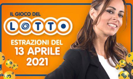Estrazione lotto 13 aprile 2021 Lotto oggi estrazione vincente superenalotto oggi 10elotto serale simbolotto numeri vincenti ufficiali verifica vincite martedì conduce Serera Garitta