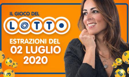 estrazione lotto 2 luglio 10 e lotto 5 minuti superenalotto simbolotto million day il gioco del lotto in diretta con Serena Garitta