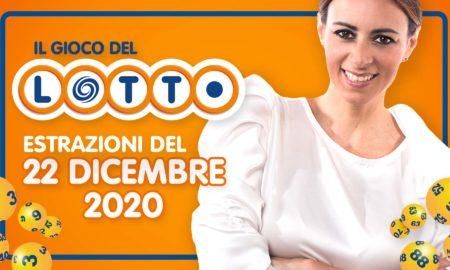 Estrazione lotto 22 dicembre 2020 Estrazioni 10 lotto 10elotto millionday superenalotto lotto oggi numeri vincenti verifica vincite