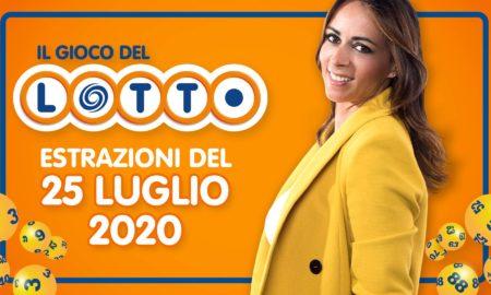Estrazione lotto 25 luglio 2020 10 e lotto 5 oggi sabato estrazione lotto in diretta superenalotto simbolotto million day conduce Serena Garitta