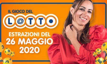 Estrazione Lotto 26 maggio martedì estrazioni del Lotto in diretta con Serena Garitta