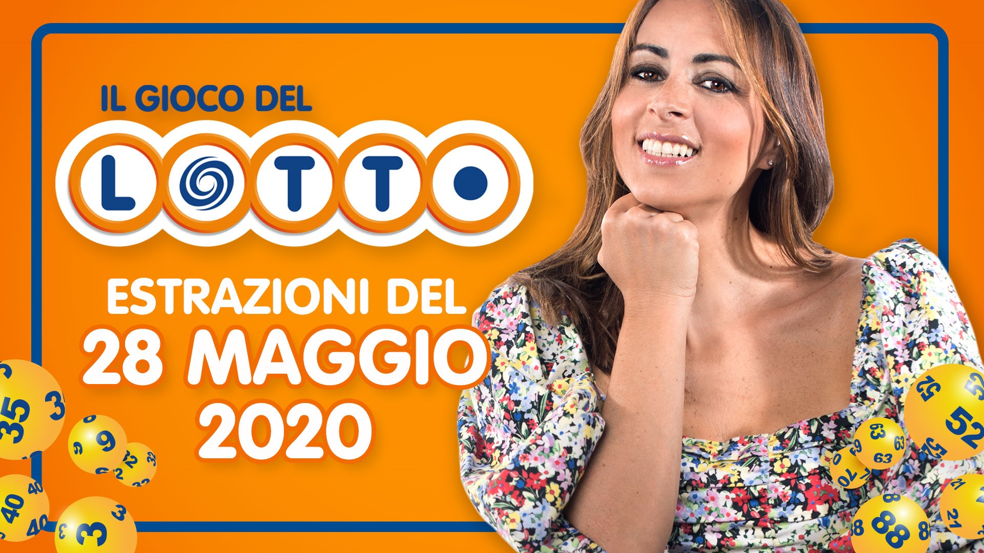 Estrazione Lotto 28 maggio 2020 numeri vincenti giovedì estrazioni del Gioco del Lotto in diretta con Serena Garitta