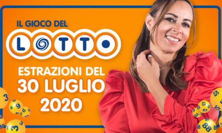 Estrazione lotto 30 luglio 2020 Estrazione lotto oggi giovedì 10 e lotto superenalotto Million Day Simbolotto numeri vincenti lotto in diretta conduce Serena Garitta