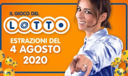 Estrazione lotto 4 agosto estrazione 10 e lotto ogni 5 oggi SuperEnalotto Simbolotto Million Day Estrazione del Lotto in diretta conduce Serena Garitta