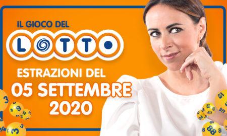 estrazione Lotto 5 settembre 2020 sabato estrazioni del Lotto in diretta oggi 10 e lotto ogni 5 minuti Jackpot e quote SuperEnalotto Simbolotto abbinato alla ruota di Palermo MillionDay Milionario numeri vincenti verifica vincite