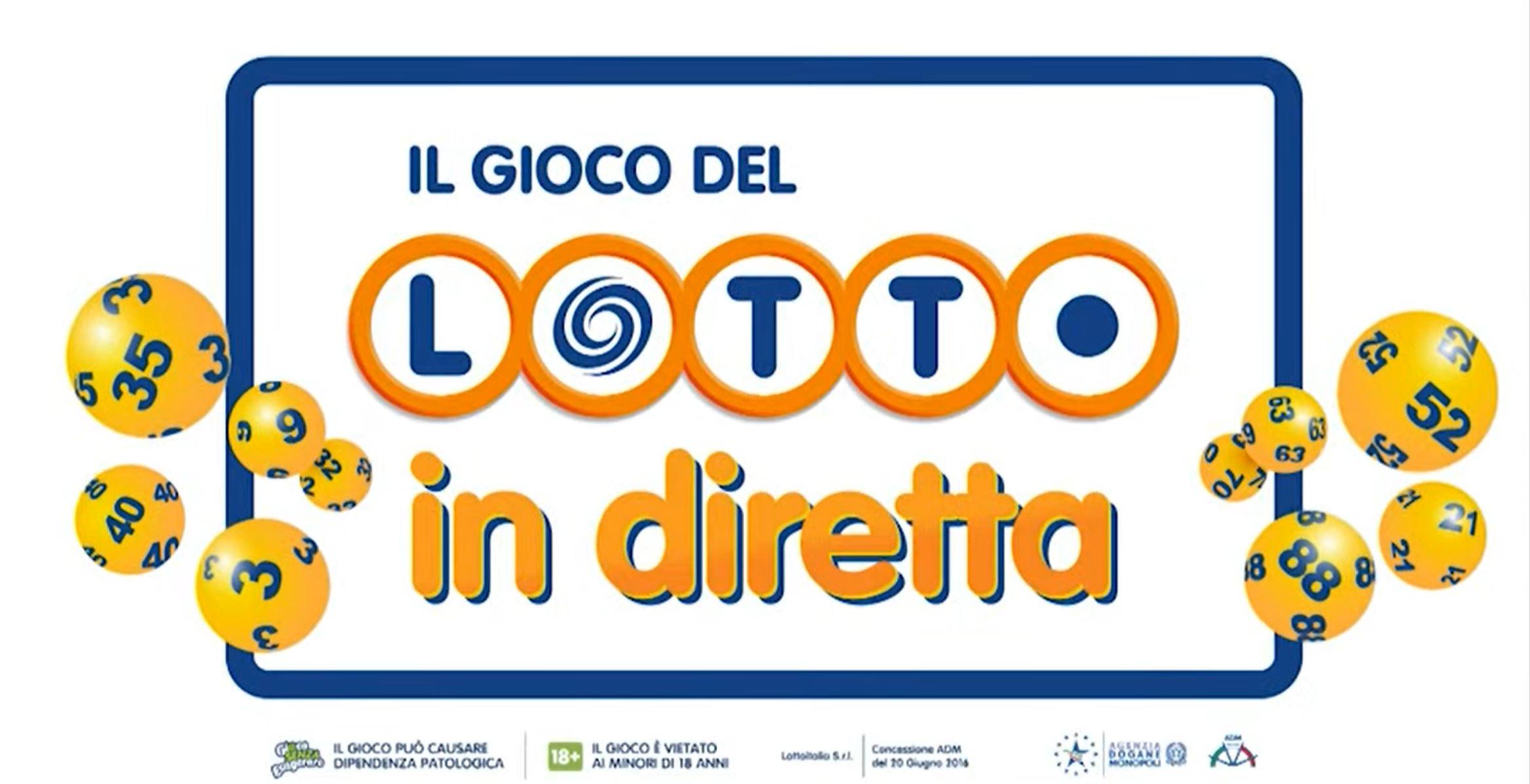 Lotto estrazione lotto oggi in diretta simbolotto 10 e lotto