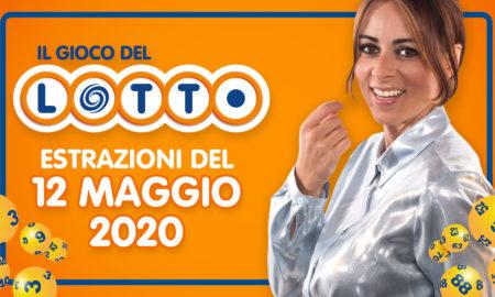 estrazione lotto superenalotto simbolotto 10elotto martedì 12 maggio 2020 numeri vincenti