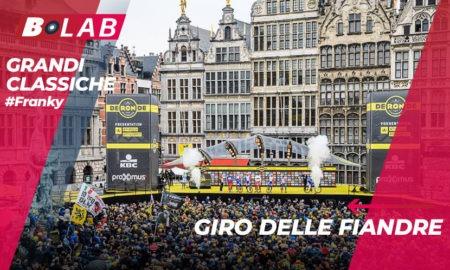 Giro delle Fiandre 2019: favoriti, analisi del percorso e tutti i consigli per provare la cassa insieme al B-Lab nel blog di #Franky!