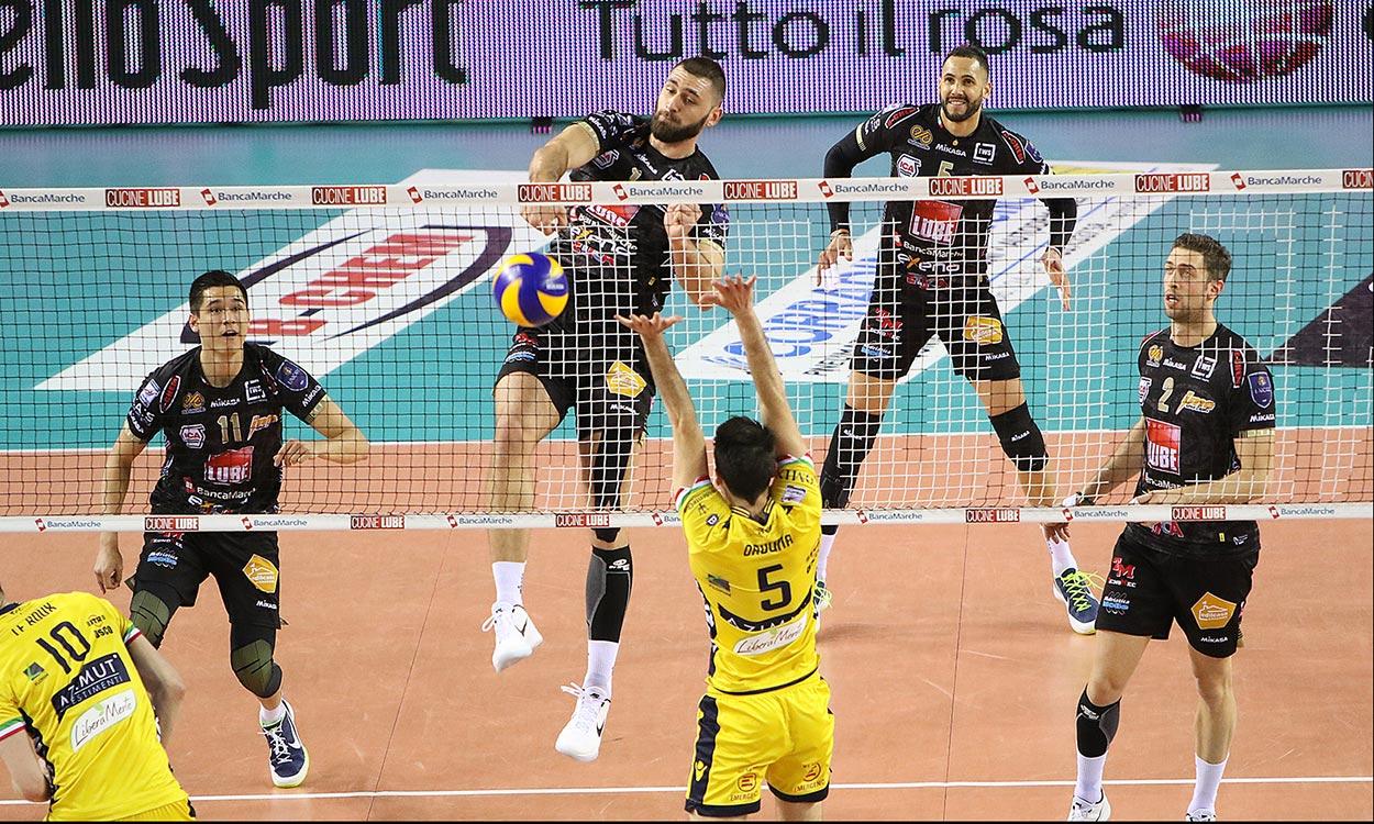 SuperLega Volley 1 novembre