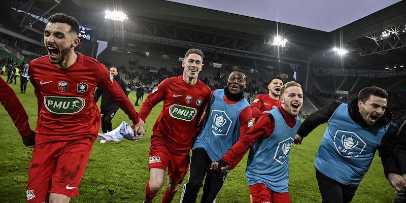 National Francia 1 marzo: si giocano le gare della 24 esima giornata del campionato francese di Serie C. Chambly in vetta a 48 punti.