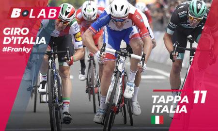 Giro d'Italia 2019 favoriti tappa 11: Carpi-Novi Ligure, l'analisi, le quote e i consigli per provare la cassa insieme al B-Lab!