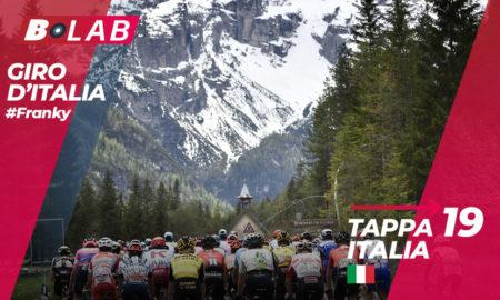 Giro d'Italia 2019 favoriti tappa 19: Treviso-San Martino di Castrozza, l'analisi e i consigli per provare la cassa insieme al B-Lab!