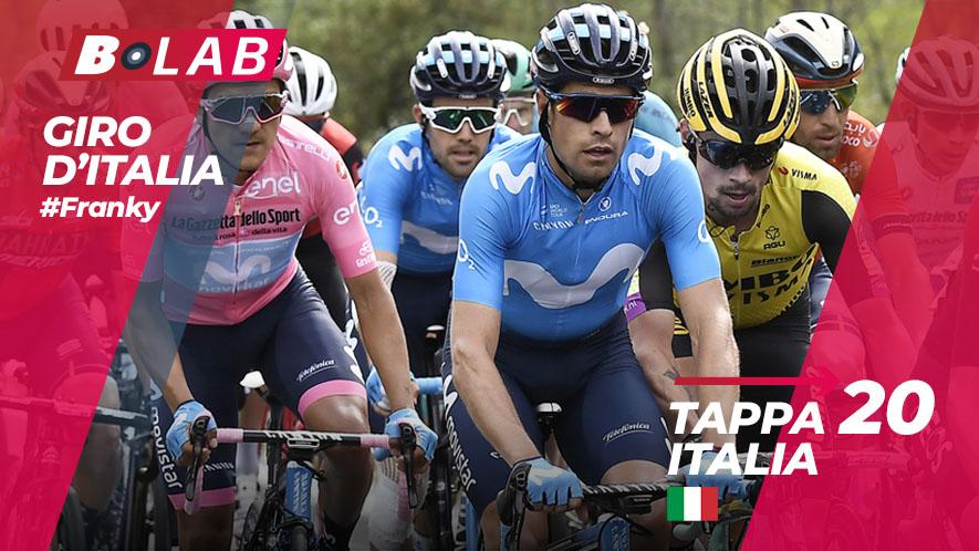 Giro d'Italia 2019 favoriti tappa 20: Feltre-Croce d'Aune/Monte Avena, l'analisi e i consigli per provare la cassa insieme al B-Lab!
